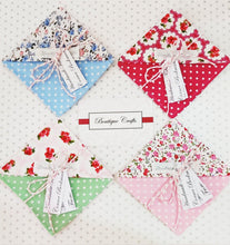 Load image into Gallery viewer, Fabric Page Corner Bookmark - Pink Ditsy Floral - BoutiqueCrafts