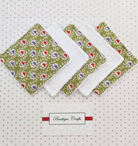 Reusable Face Wipes and Storage Bag