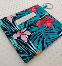 Load image into Gallery viewer, Tropical Face Mask Bag Keyring