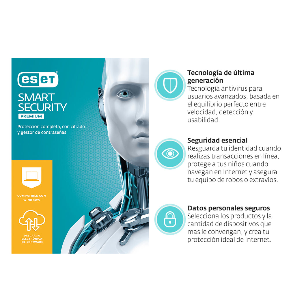 ESD ESET Smart Security Premium | descarga Digital