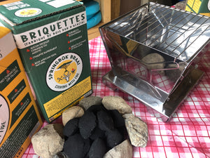 Promotion: 10 Boxes of Springbok Braai Briquettes & Easy Grill