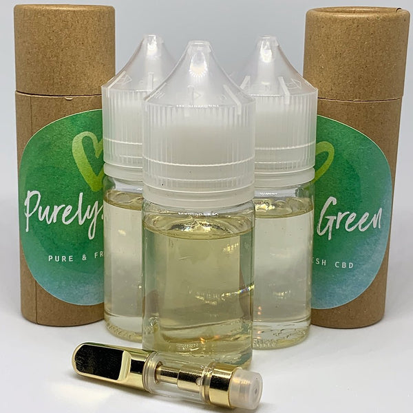 Flavoured CBD Isolate Vape Cart