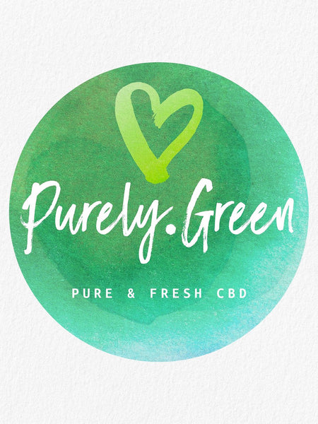 Purely Green Sticker / Slap