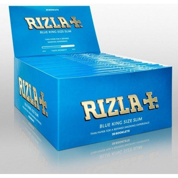 Blue Rizla King Size Rolling Papers