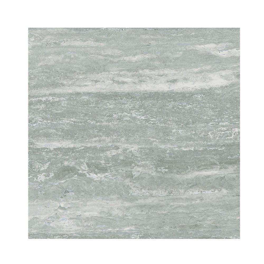 TRAVERTINO GREY GLOSSY 60X60 RETT.I    MQ 1.08/SCATOLA