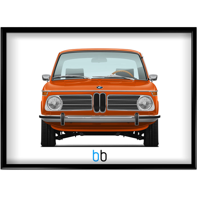 Bmw E10 2002Tii Print-Limited Edition Poster