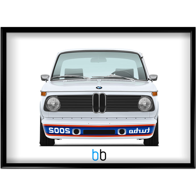 Bmw E20 2002 Turbo Print-Limited Edition Poster