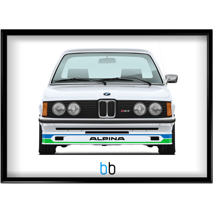 Bmw E21 Alpina C1 2.3 Print-Limited Edition Poster