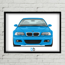 Load image into Gallery viewer, BMW E46 M3 Print