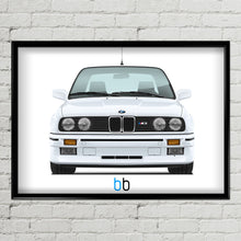 Load image into Gallery viewer, Bmw E30 M3 Print Poster