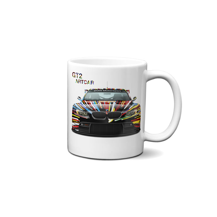 Bmw E92 M3 Gt2 Art Car 11Oz. Ceramic Mug-Limited Edition Mug
