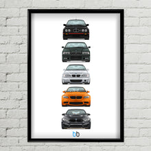 Load image into Gallery viewer, BMW M Limited Edition Generations Print
