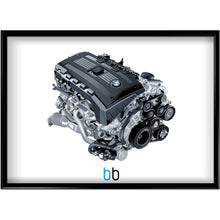 Load image into Gallery viewer, Bmw N54B30 Engine Print Poster