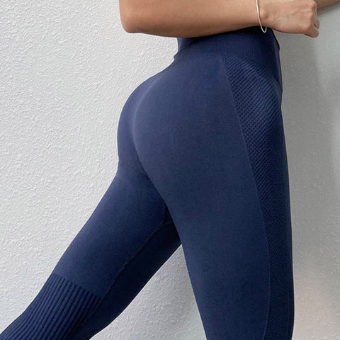 Women's Seamless High Waist Push Up Yoga Leggings with Breathable Fabric, Slim Fit, for Running, Workout, Yoga and more