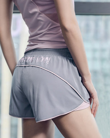Sport Shorts for Women, with Double Layer, for Running, Gym and Workout