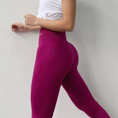 Women's Seamless, High Waist Leggings, for Yoga, Running, and other activities