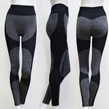 Women's High Waist, Seamless, Yoga Leggings with Breathable Fabric for Running, Yoga and Sports