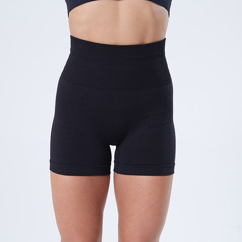 Seamless Sports Shorts for Women, High Waist, Push Up and Breathable Fabric, for Gym and Yoga