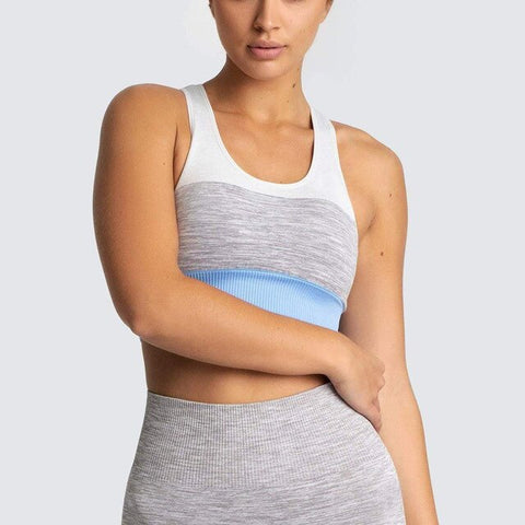 Women's Seamless Crop Top Sports Bra for Yoga, Running and other Indoor and Outdoor Activities