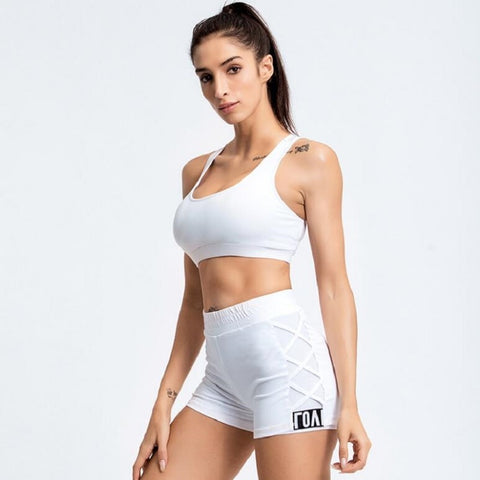 Women's Fitness Shorts for Running, Gym, Yoga, and Workout