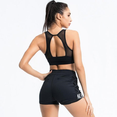Women's Fitness Shorts for Running, Gym, Yoga, and Workouts