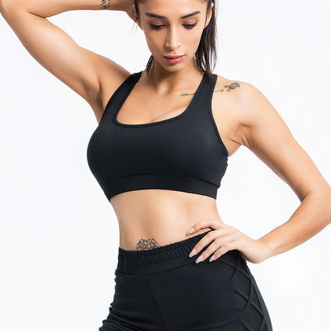 Women's 2 Piece Yoga Set with Sports Bra + Leggings, for Running, Gym, Workout
