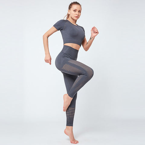 Women's Breathable Tracksuits for Gym, Yoga, Running, and Sports