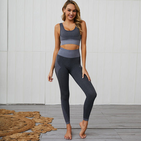 Women's Yoga Suit with Mention Hip Pants for Yoga, Workout, Running, and other activities