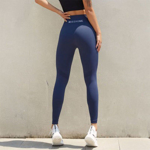 Women's Seamless Push Up Tights with High Waist for Workout, Running, Yoga and Gym