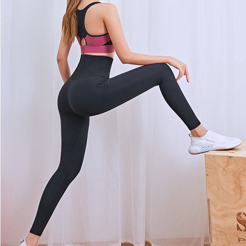 Women's Stretchy and High Waist Compression Tights for Yoga, Gym and other Fitness Activities
