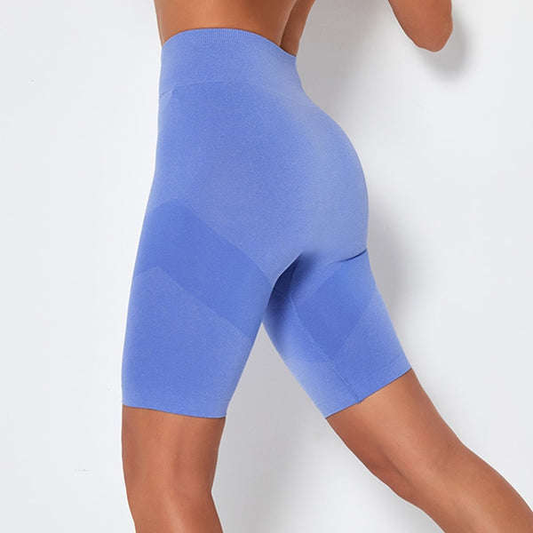 Women's Seamless, Quick Dry, High Waist, Push up Shorts for Yoga, Gym and Other Sports