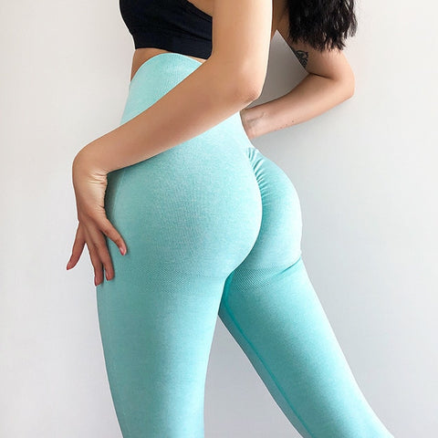 Women's Seamless, High Waist, Stretchy Leggings for Yoga and Other Workouts
