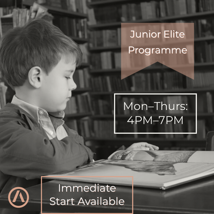 New Elite Junior Tutoring Program Coming in 2021