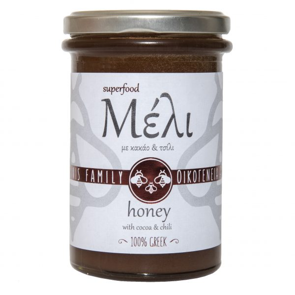 Honey with Cocoa and Chilli 400g