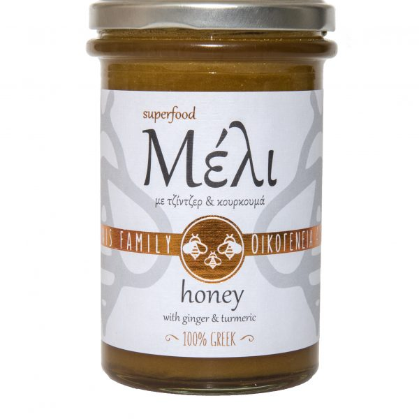 Honey with Ginger & Turmeric 400g