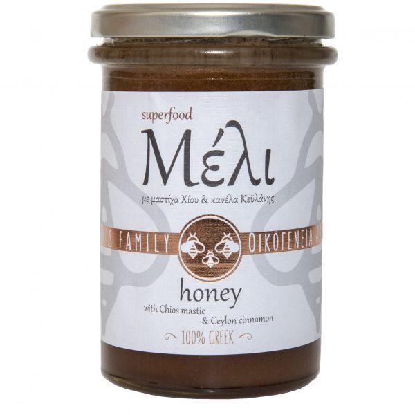 Honey with Ceylon Cinnamon & Chios Mastic 400g