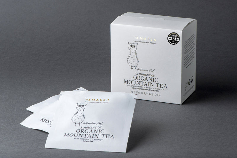 Organic Greek Mountain Tea Sachets