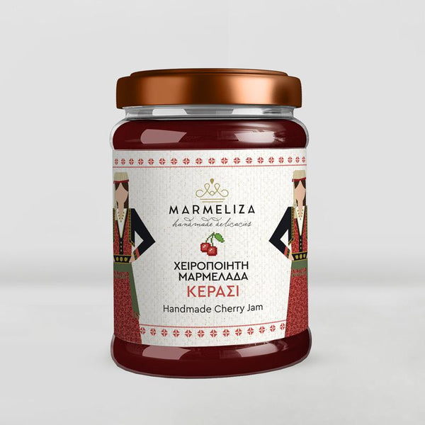 Handmade Cherry Jam with 80% Real Fruit 390g