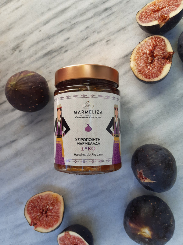 Handmade Fig Jam with 80% Real Fruit 390g
