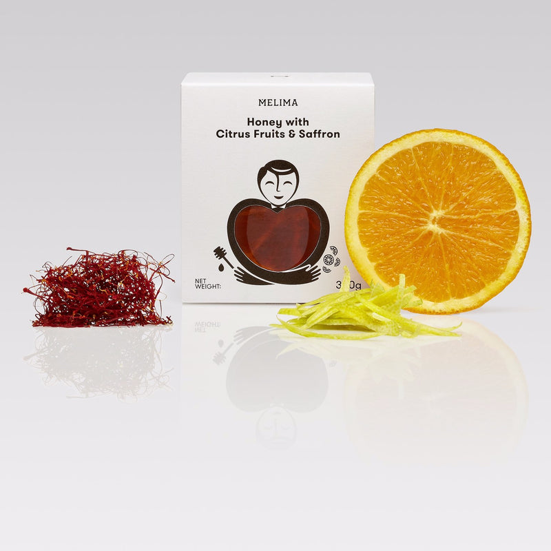 Honey with Citrus Fruits & Saffron 300g