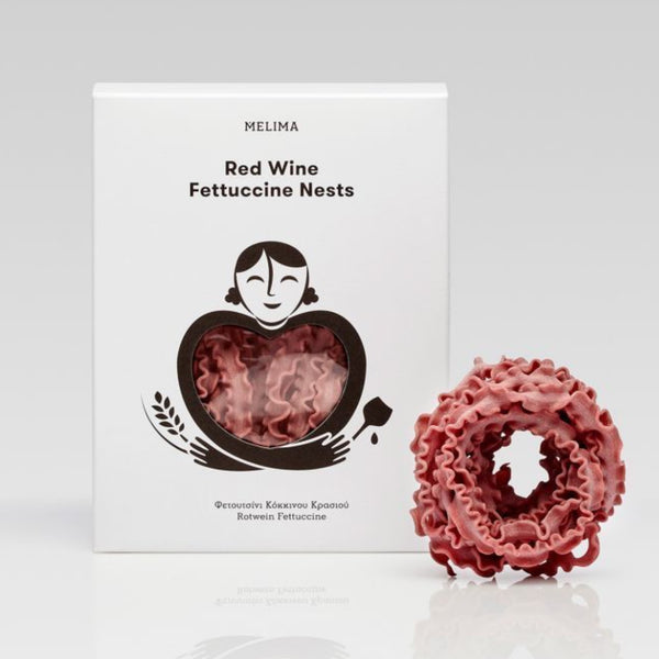 Red Wine Fettuccine Nests 250g
