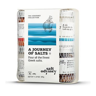 A JOURNEY OF SALTS, GREEK EDITION 4 x 80g