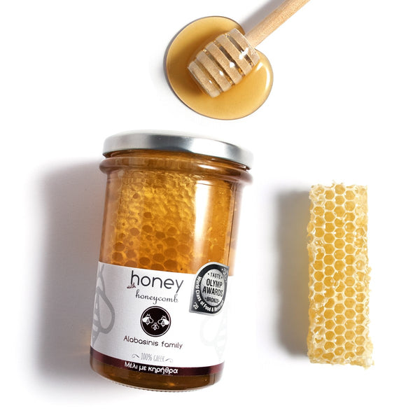 Honey with Honeycomb 400g