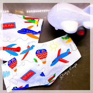Handmade Kids Mask - Airplane