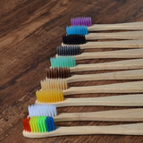 Bamboo Tooth Brush 10pcs