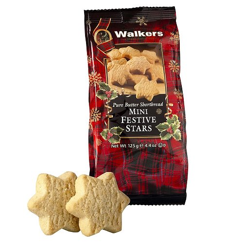 Walkers Pure Butter Shortbread Stars