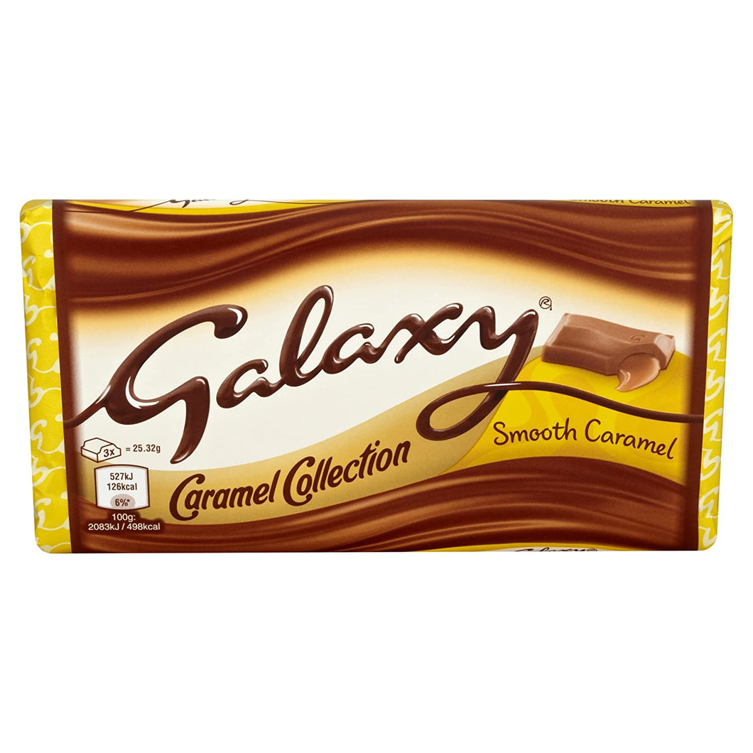 Galaxy Caramel Share Bar