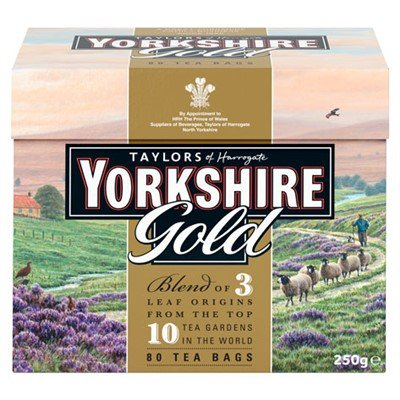 Yorkshire Gold Tea - 80 count