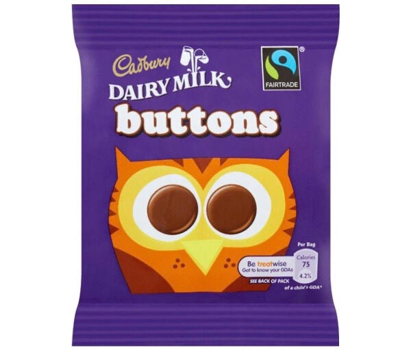 Mini Milk Buttons