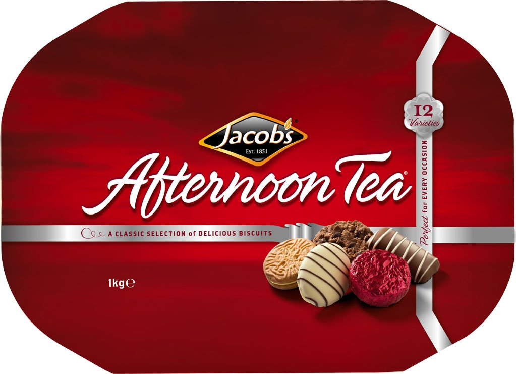 Jacob's Afternoon Tea Biscuits - Large Tin